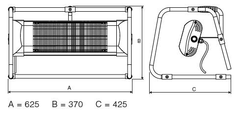 Massangaben-B2000-II